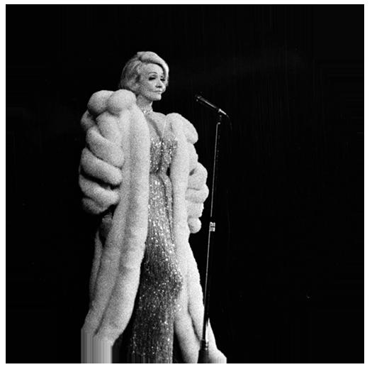 Marlene Dietrich, actrice et chanteuse allemande