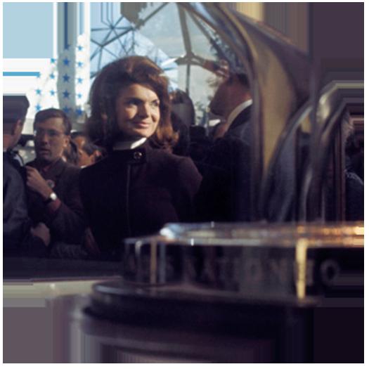 Jackie Kennedy, veuve de l'ex-président américain John F. Kennedy