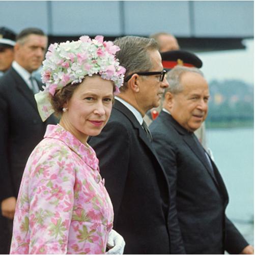 Reine Élizabeth II d'Angleterre