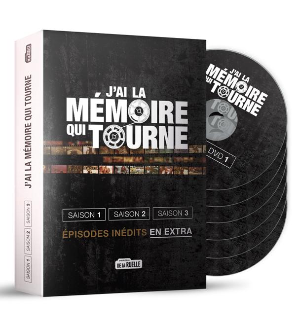 Coffret DVD J'ai la mémoire qui tourne